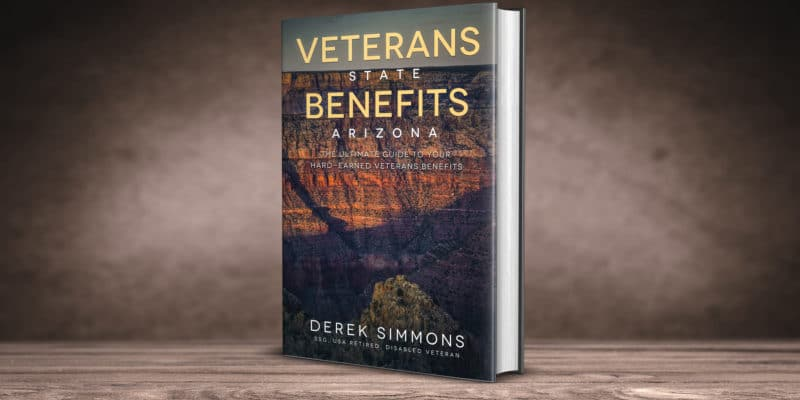 Veterans State Benefits Arizona book cover 3d
