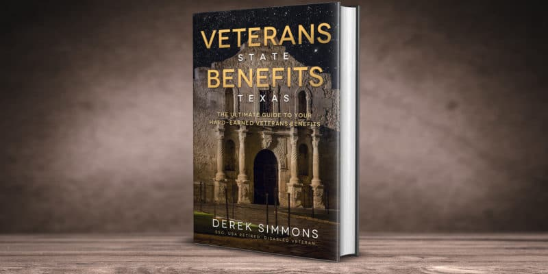 Veterans State Benefit s Texas 3d book cover