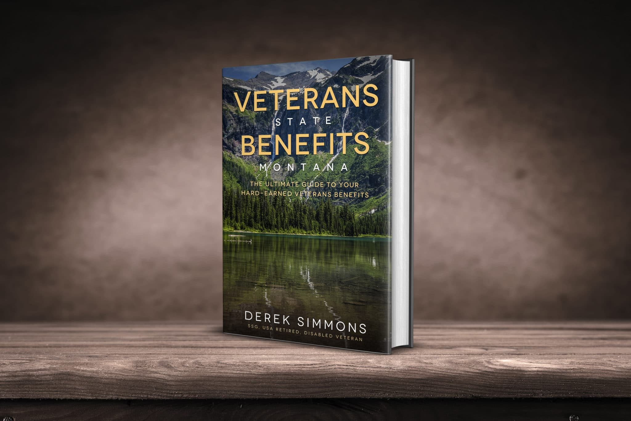 Veterans State Benefits Montana book cover_3d