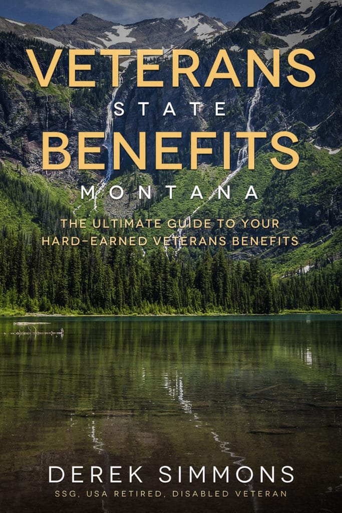 Veterans State Benefits Montana book cover