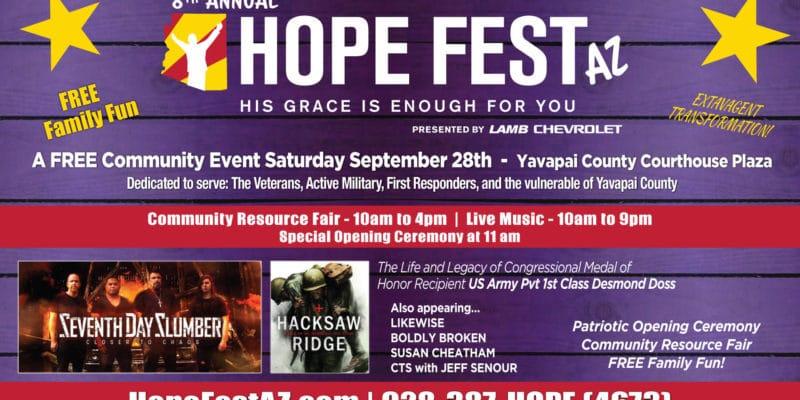 Hope Fest AZ 2019 banner